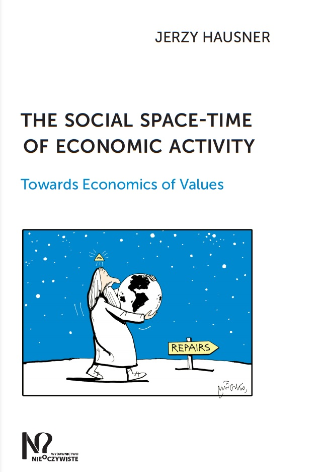 The social space-time of economic activity